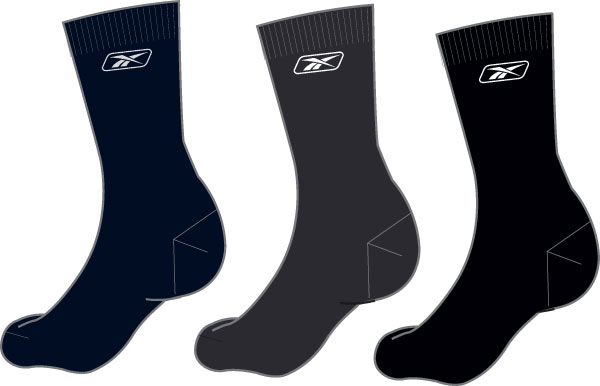 Pack 3 City Socks